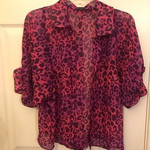 Adorable Hello Kitty Blouse Pink & Purple